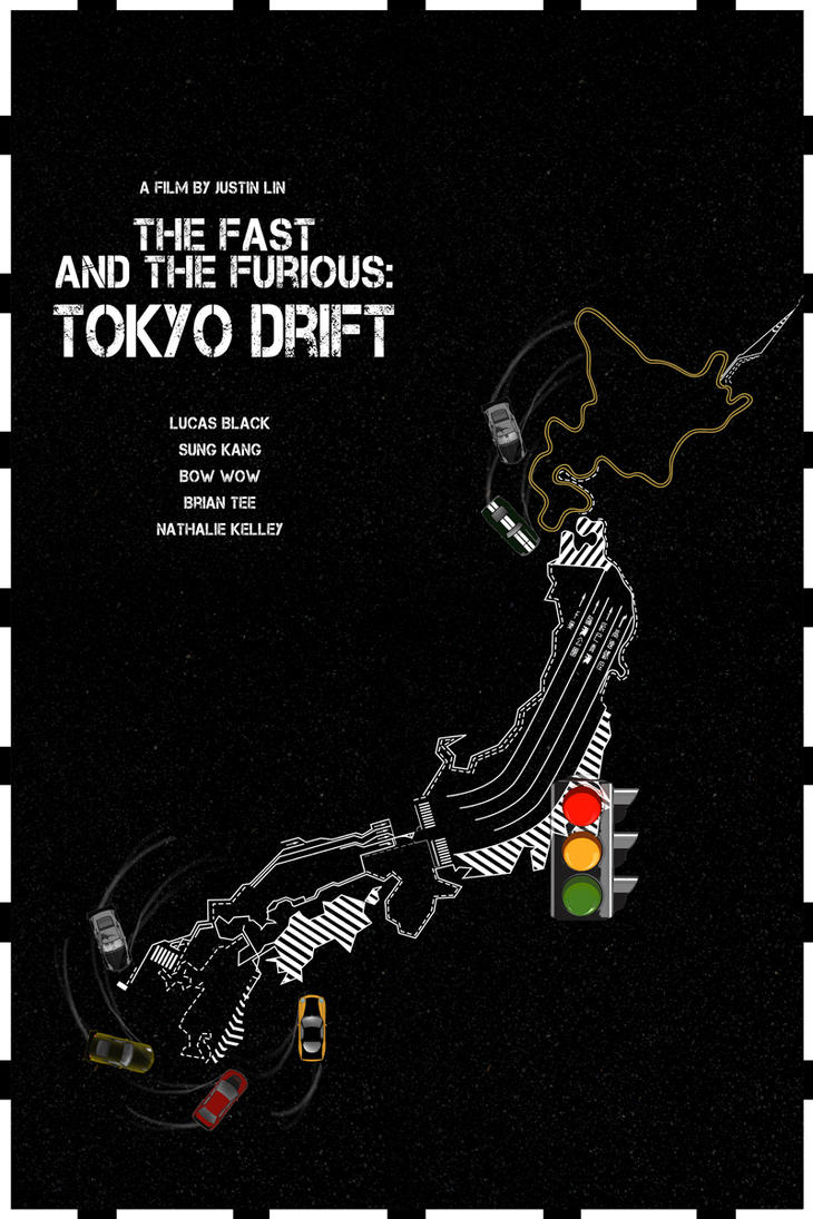 The Fast and the Furious - Tokyo Drift (2006) by edgarascensao