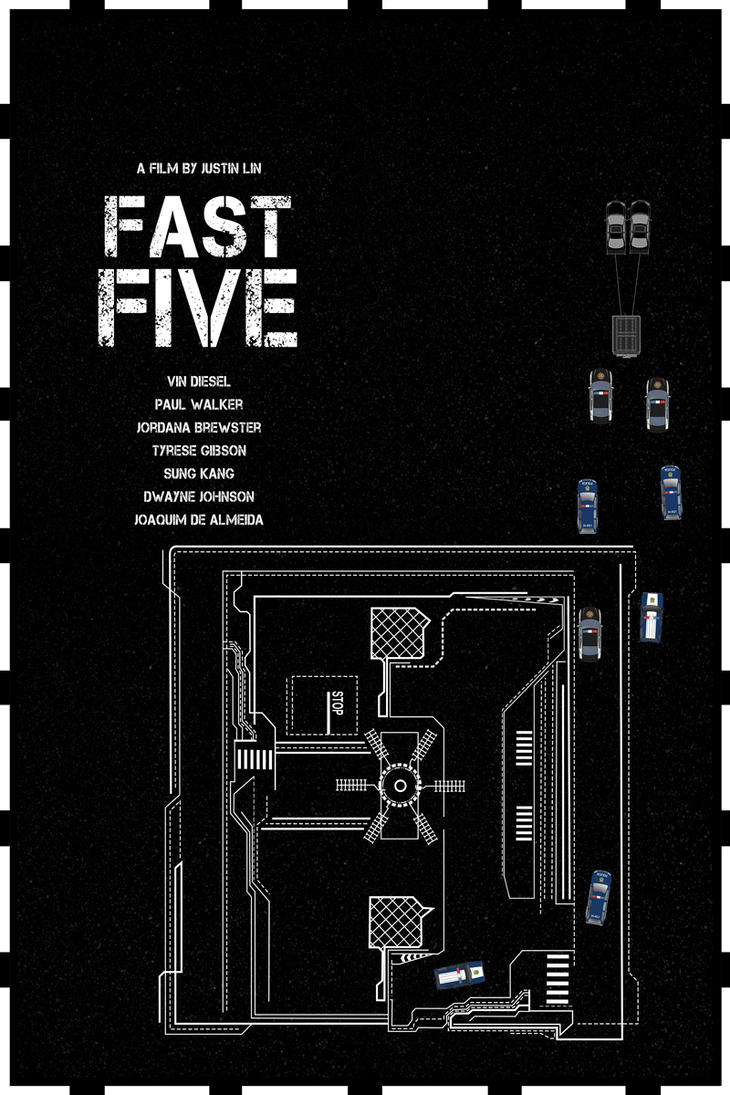 Fast Five (2011) by edgarascensao