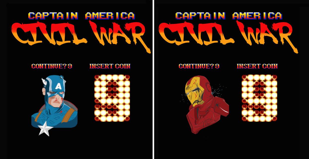 Insert Coin for Civil War by edgarascensao
