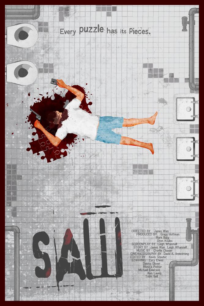 SAW (2004) by edgarascensao