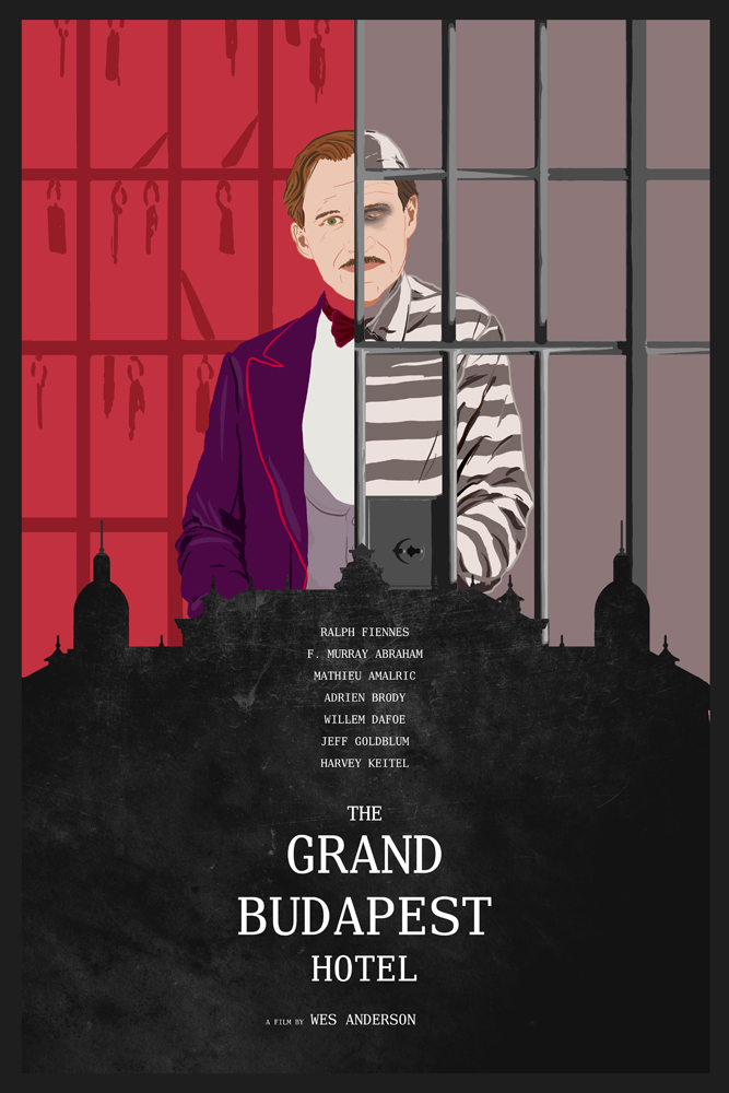 The Grand Budapest Hotel by edgarascensao