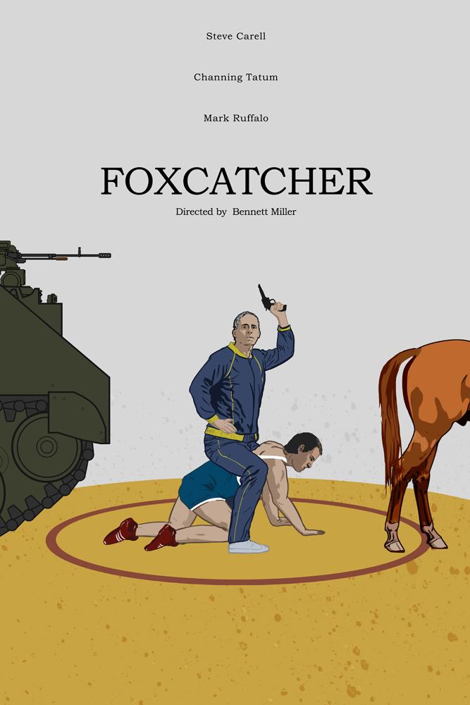 Foxcatcher (2014) by edgarascensao