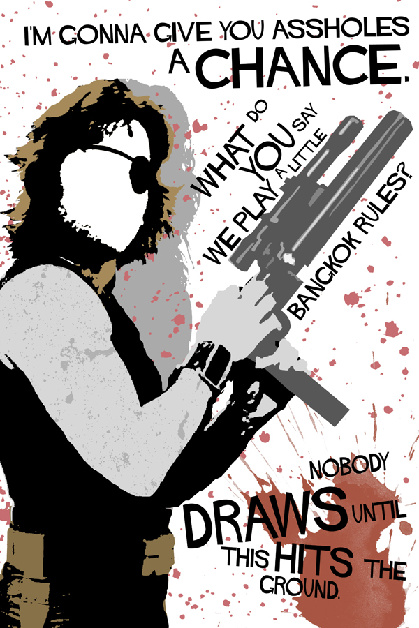 Movie Quotes with-a-gun 14 by edgarascensao