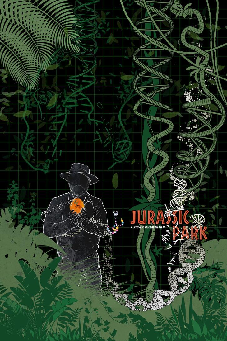 Jurassic Park (1993) by edgarascensao