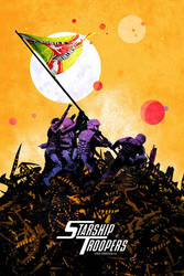 STARSHIP TROOPERS (1997) by edgarascensao