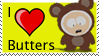 I Love Butters Stamp by PsyKatty