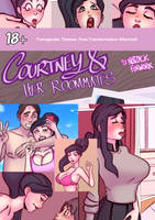 Courtney and Her Roommates by notzackforwork