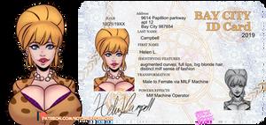 Bay City ID Helen L Campbell