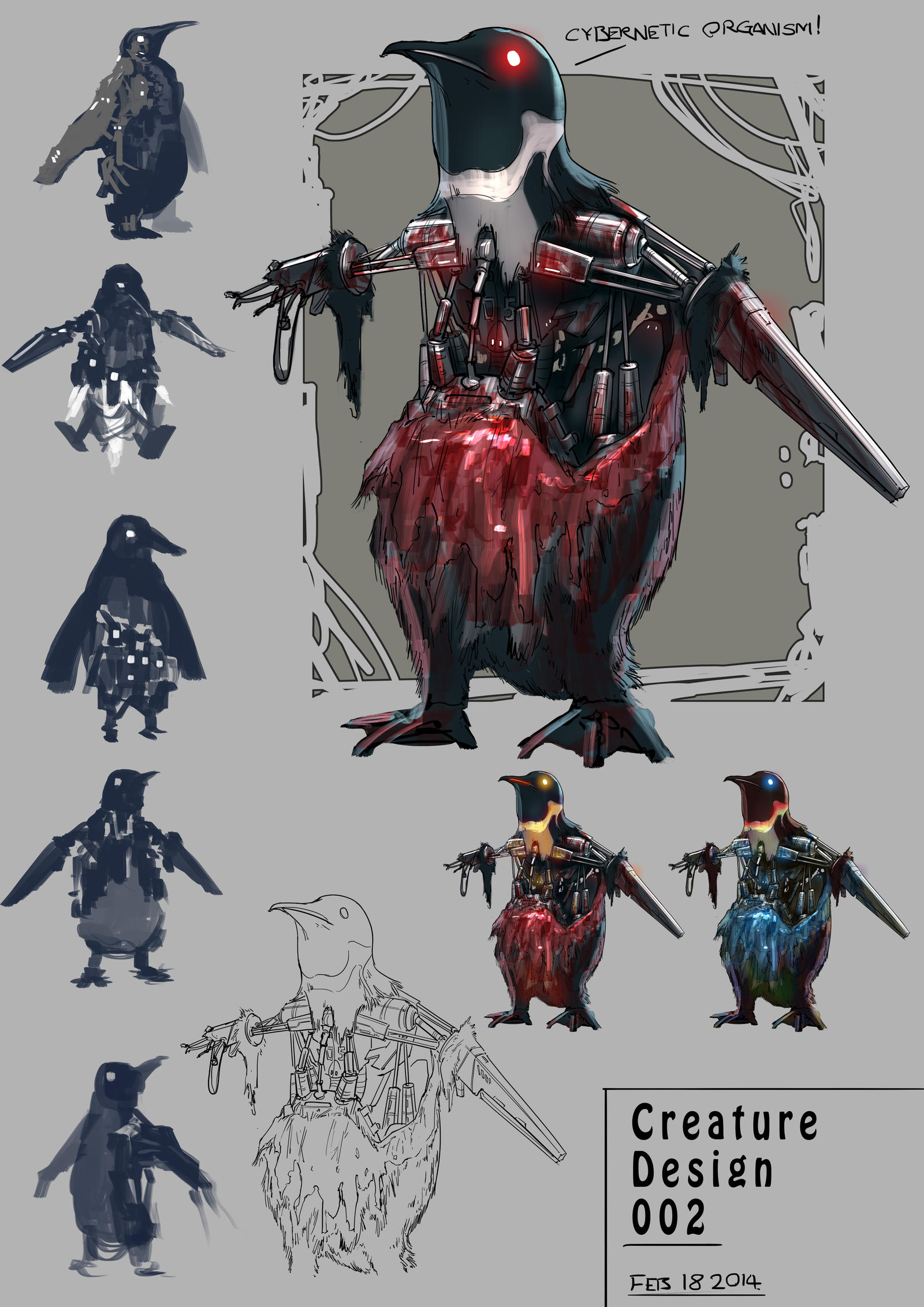 The Penguinator by michaellimsstuff