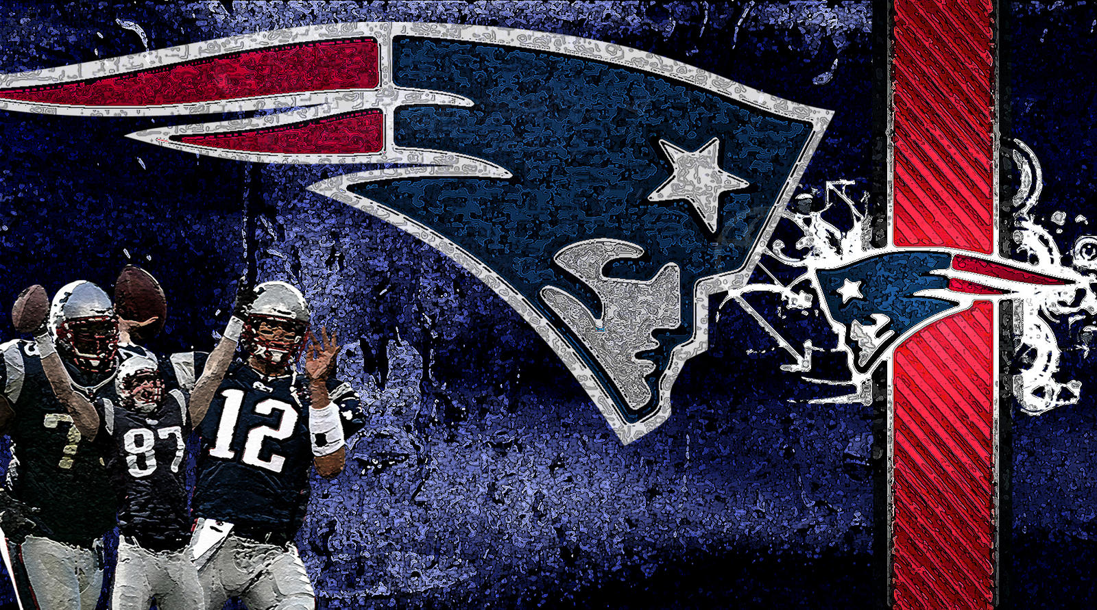 New England Patriots Wallpaper by cthebeast123 on DeviantArt