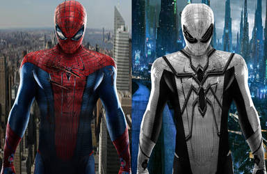 Costume Changes: Spider-Man--FF Spider-Man by cthebeast123