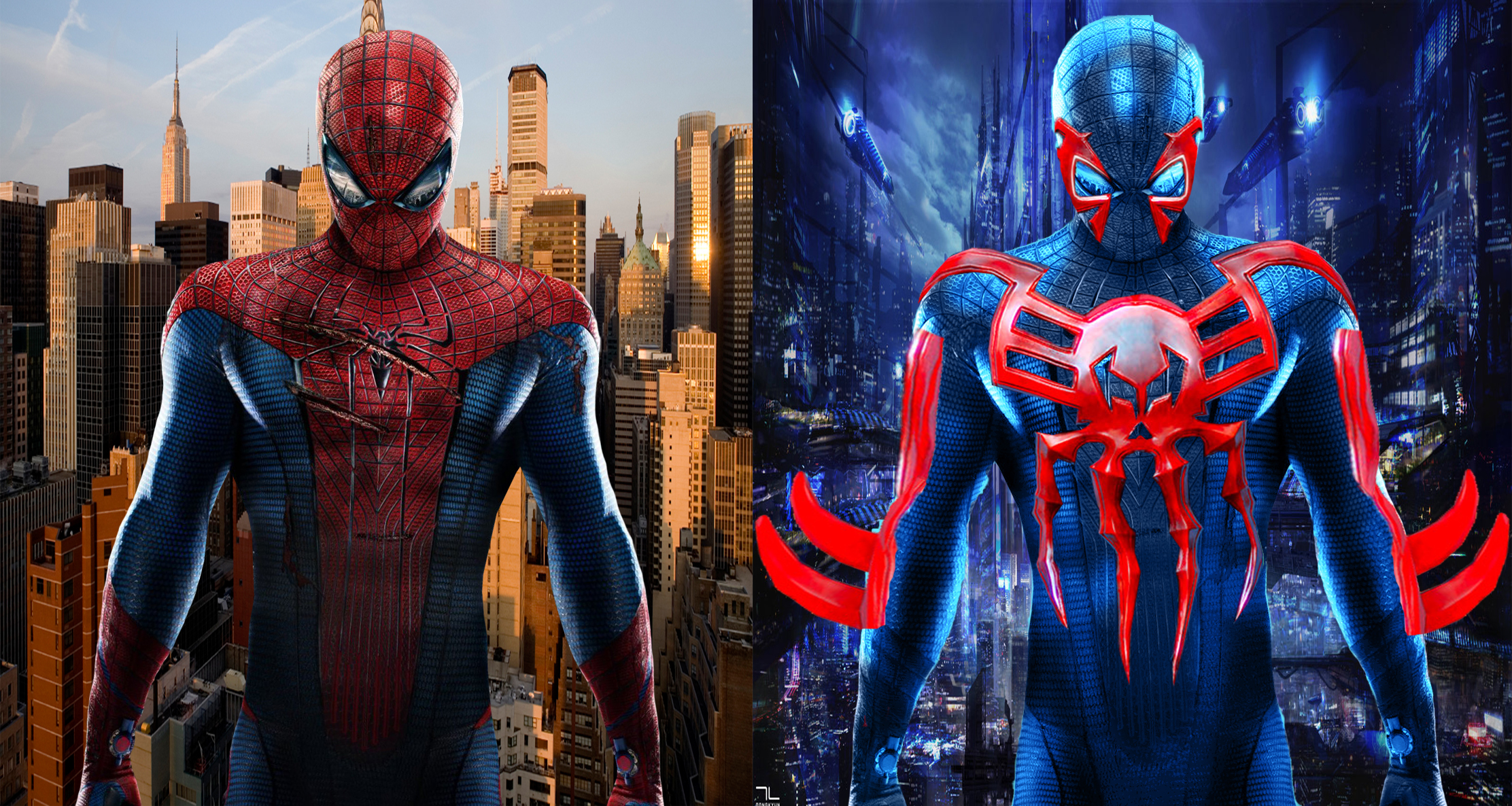 Cool Spiderman 2099 Wallpaper: Costume Changes Spider-Man--2099 Spider-Man By