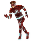 Kid Flash Rebirth - KJ Apa - Transparent