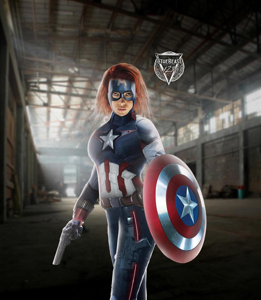 Black Widow - Captain America - MCU by cthebeast123