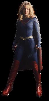 Supergirl New Suit Transparent - Season 5 png