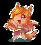 Mini Kyoko (+speedpaint)