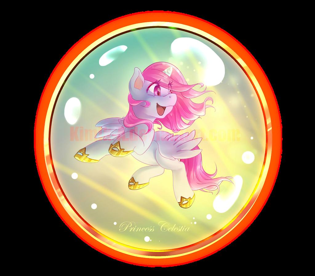 Princess Celestia + Speedpaint by KimiK-A