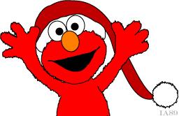 Christmas Elmo by ia89