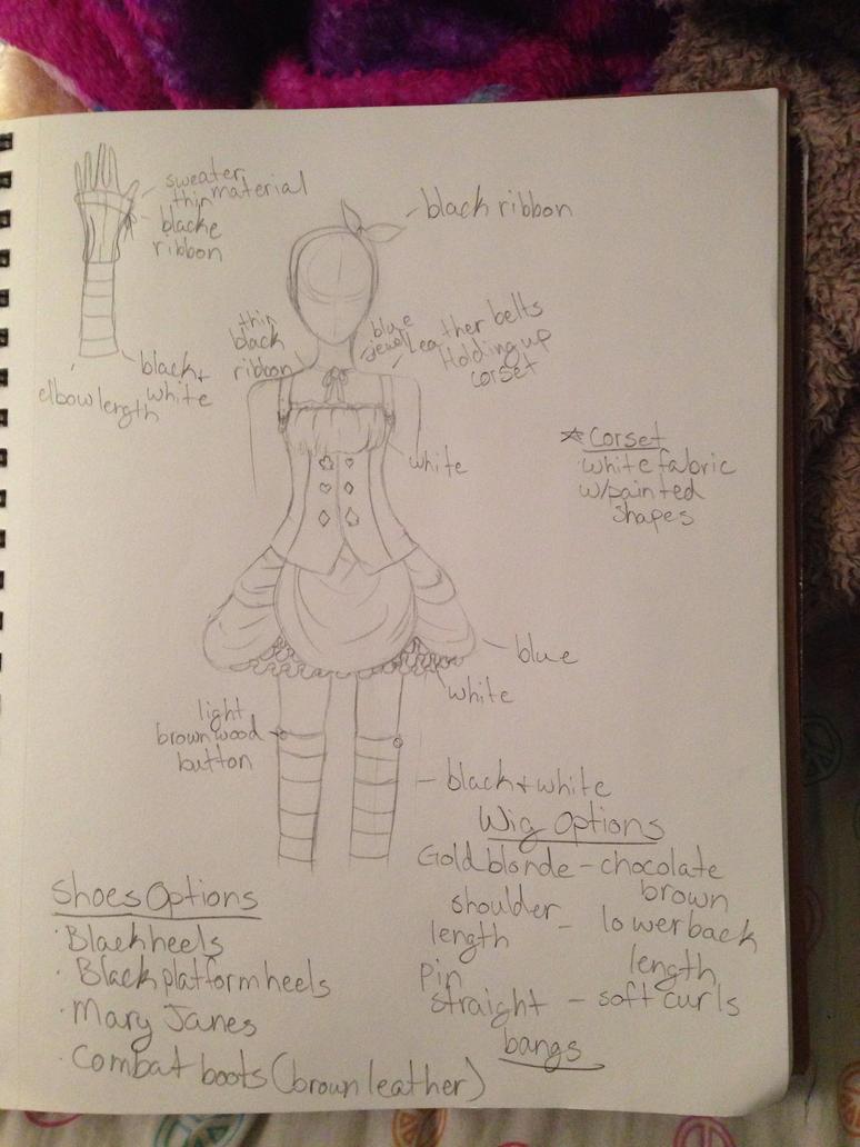 Alice In Wonderland design by AskTheFrostPrincess