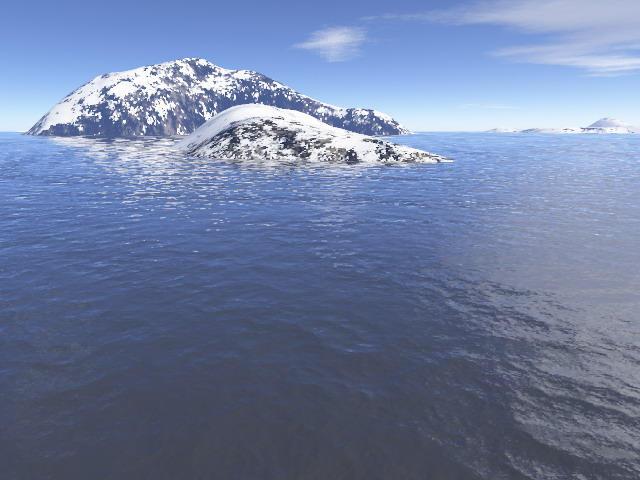 Snow Island By Breizhell On DeviantArt