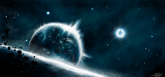 space, the final frontier by password09