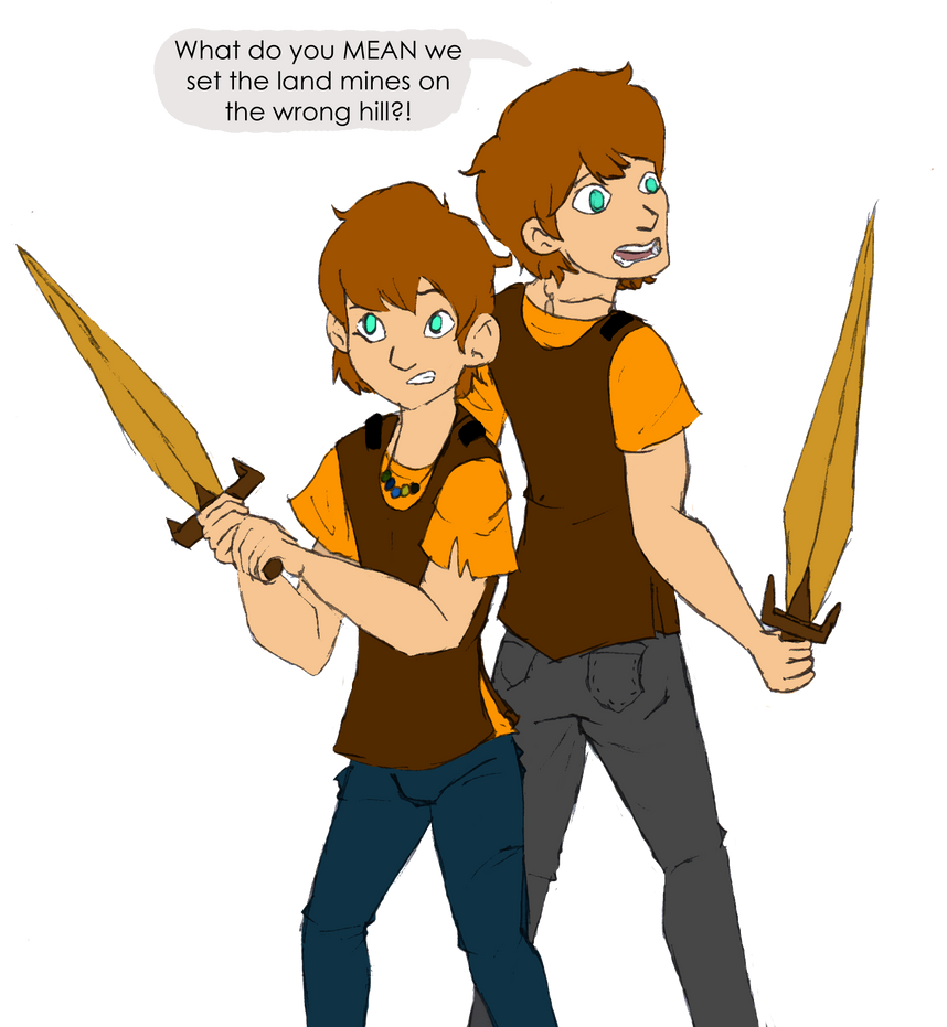 The Stoll Brothers by CoffeeOtter
