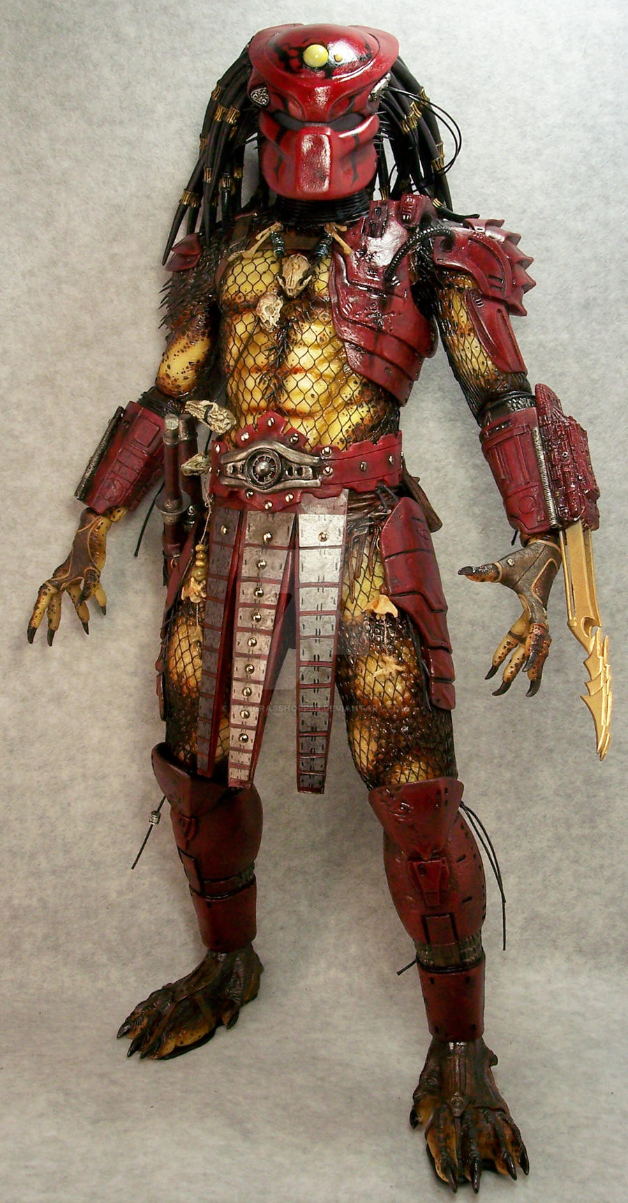 Neca Big Red by mangrasshopper