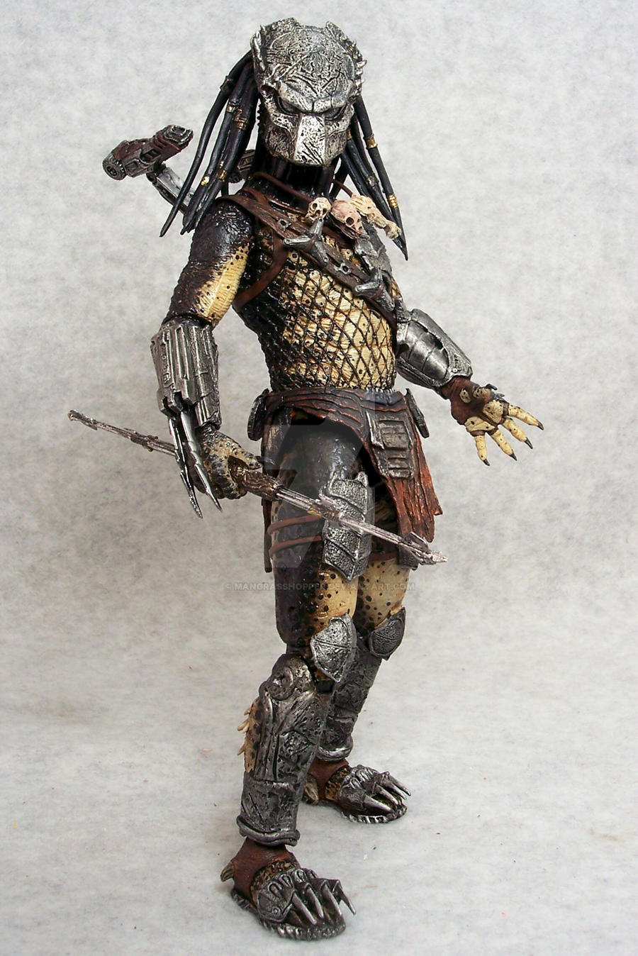 Custom NECA Wolf by mangrasshopper