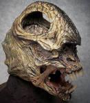 Cave creature head