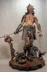full samurai predator by mangrasshopper