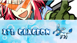 Pascal, TTGL and Glaceon Sig by EvilSapphie
