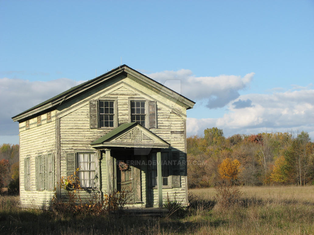 Old school house by helerina on deviantart for Classic house images