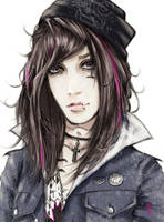 Andy Biersack by An7Dash