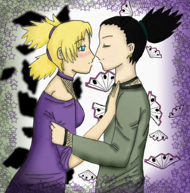 Temari + Shikamaru Kiss by superacp on DeviantArt