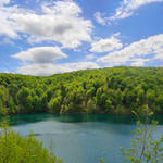 Lovely view at Plitvice Lakes