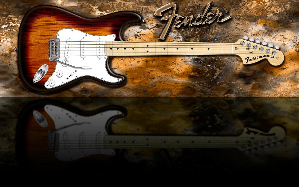 Fender Strat KoaTBurstMplFrtBrd WSSS LO by KevyMetal