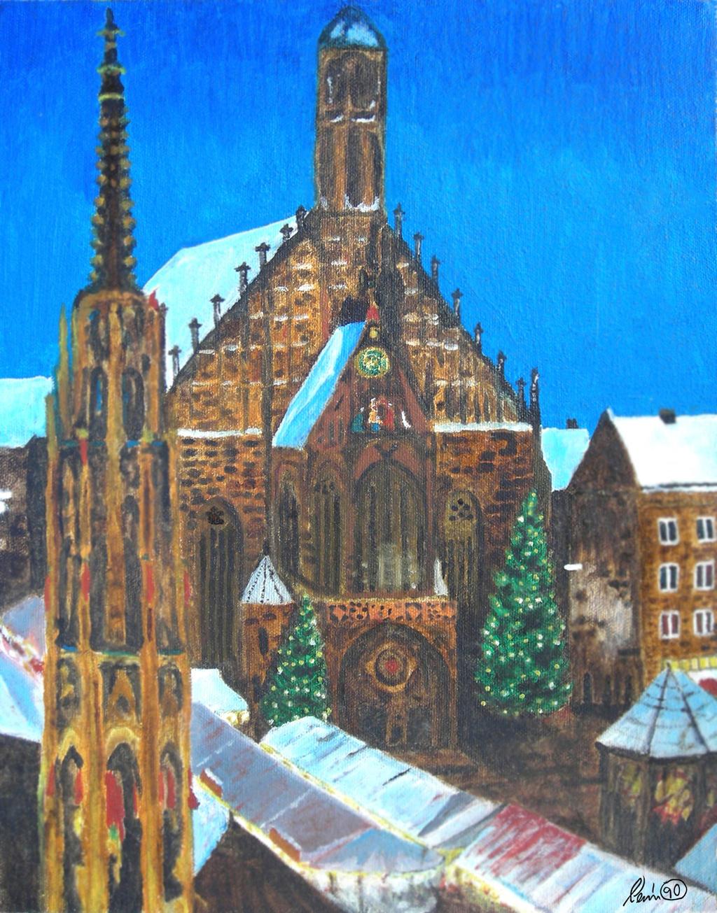 Nurnberger Christkindlesmarkt by KevyMetal