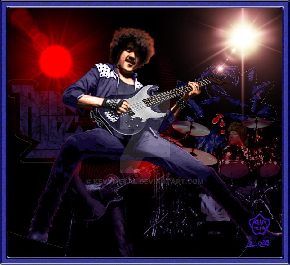 Phil Lynott by KevyMetal