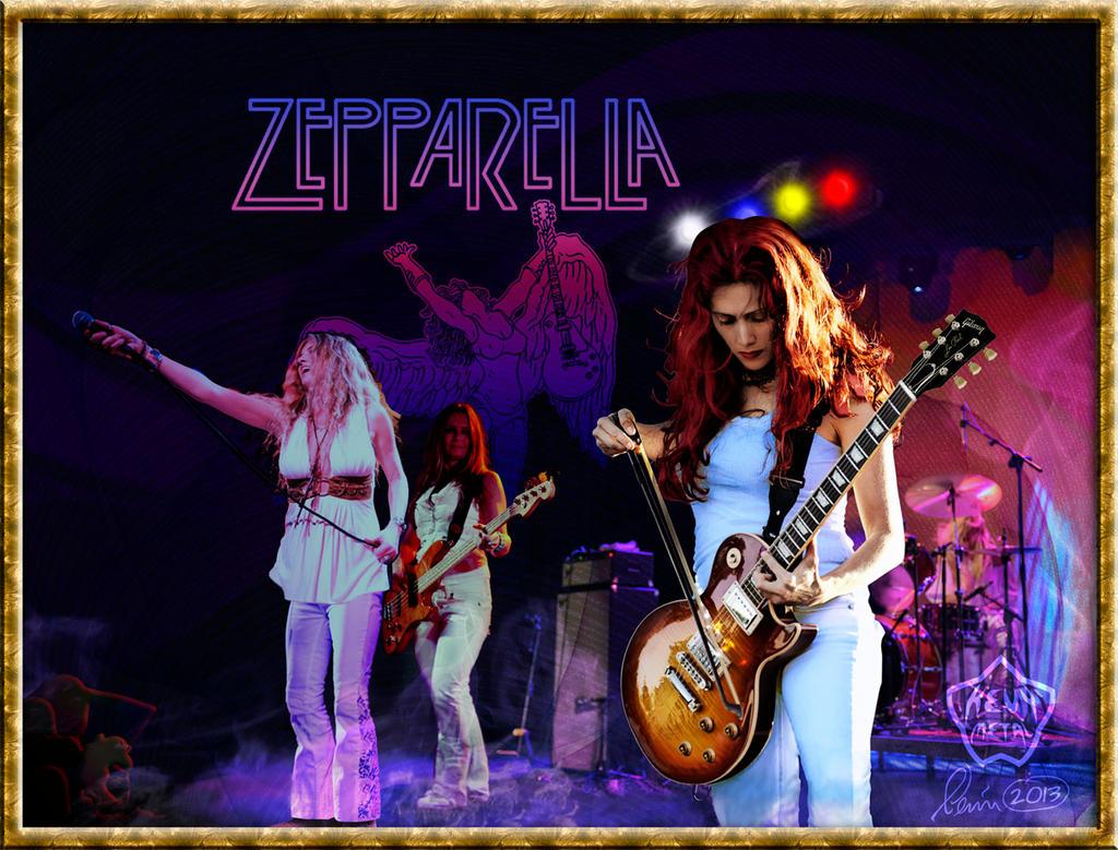 Zepparella by KevyMetal