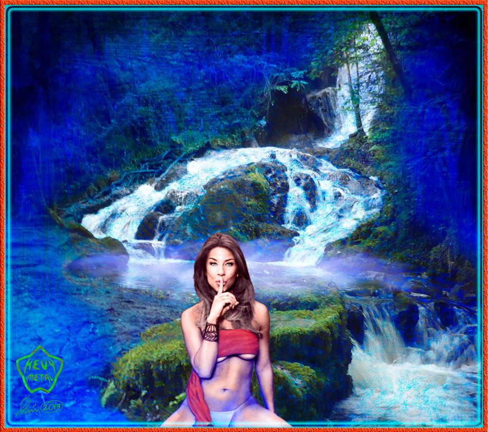 Secret Falls by KevyMetal