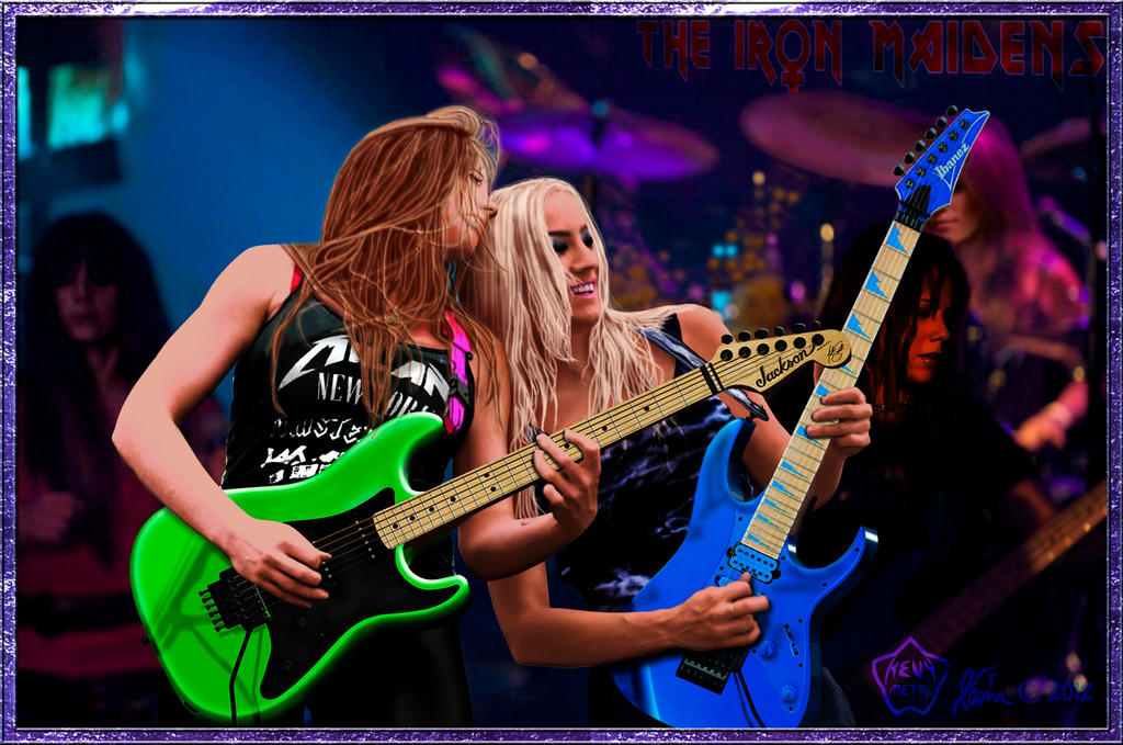 Nita Strauss Iron Maiden's