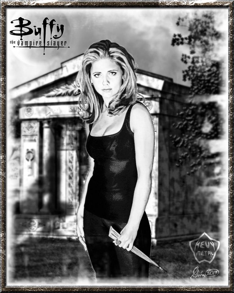 Buffy 2 by KevyMetal