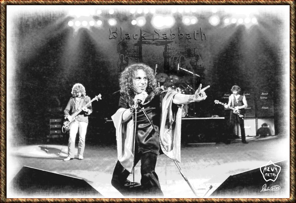 Black Sabbath 02 by KevyMetal