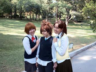 KHR - between girls by LenaleeDokuro