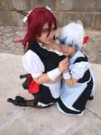 TTGL - Yoko and Nia maid