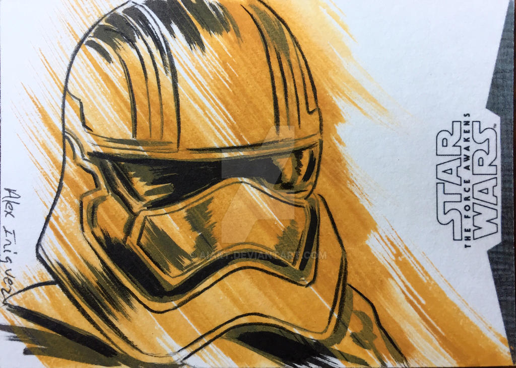 Captain Phasma by AIart