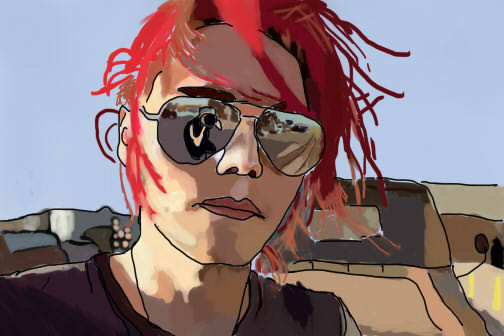 Gerard Way- Done by Using0nlycaps