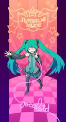 Vocaloid: Hatsune Miku by Hello-Morphine
