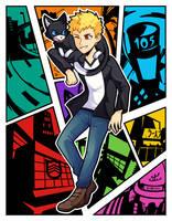 Protagonist Ryuji by azulila