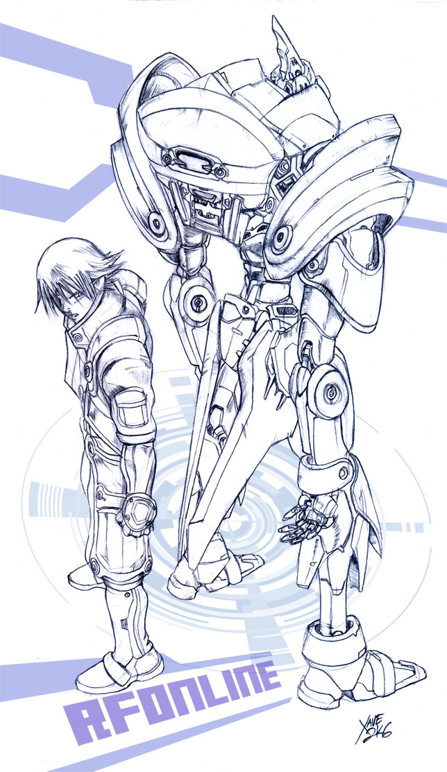 Rising Force Online Sketch by neurowing